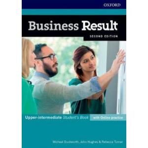 Business Result. 2nd edition. Upper-Intermediate. Student's Book + Online Practice