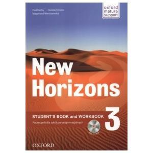 New Horizons 3.    Podręcznik + Ćwiczenia + MultiROM