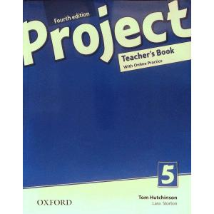 Project 5. 4th edition. Teacher's Book + Online Practice