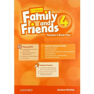 Family and Friends 4. 2nd edition. Teacher's Book Plus