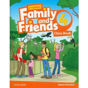 Family and Friends 4. Class Book. 2nd edition