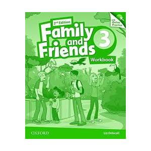 Family and Friends 2Ed 3. Ćwiczenia 