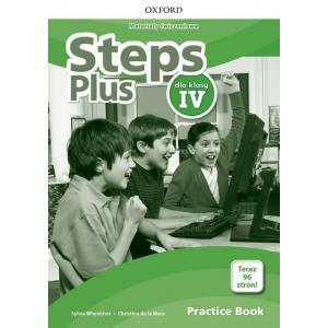 Steps Plus. Szkoła podstawowa klasa 4. Materiały ćwiczeniowe + Online Practice