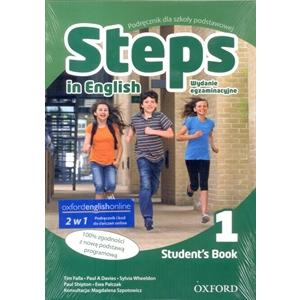 Steps in English 1 SB with Online workbook