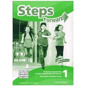 Steps Forward 1. Materiały Ćwiczeniowe + Online Practice. Wersja Pełna