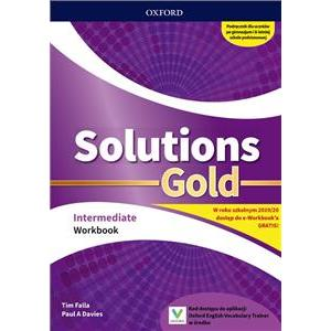 Solutions Gold. Intermediate. Workbook + kod online. Wyd.2019