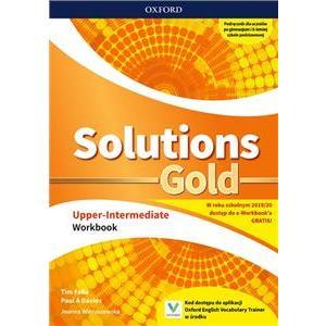 Solutions Gold Upper Intermediate. Ćwiczenia