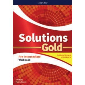 Solutions Gold. Pre-Intermediate. Workbook + kod online. Wyd.2020
