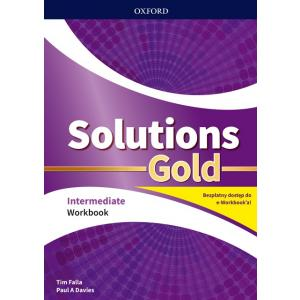 Solutions Gold. Intermediate. Workbook + kod online. Wyd.2020