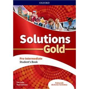 Solutions Gold Pre-Intermediate. Student's Book