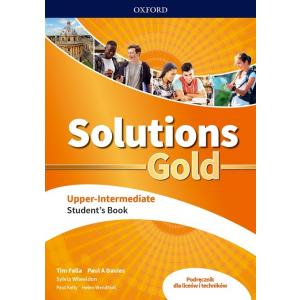 Solutions Gold Upper Intermediate. Podręcznik