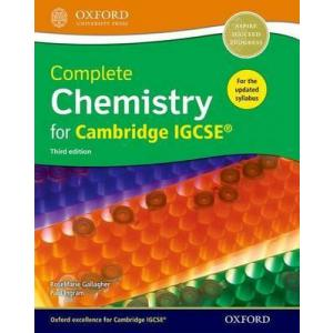 Complete Chemistry for Cambridge IGCSE 3rd ed