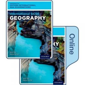 International GCSE Geography for Oxford International AQA Examinations : Print & Online Textbook Pack