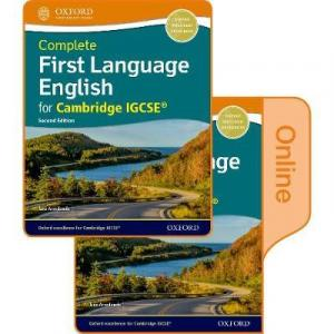 Complete First Language English for Cambridge IGCSE: Print and Online Student Book Pack