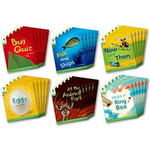 Oxford Reading Tree: Level 2: Floppy's Phonics Non-Fiction: Class Pack of 36