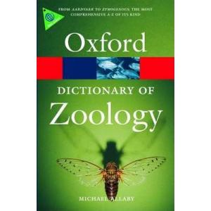 Dictionary of Zoology. 3 ed. Oxford Paperback Reference. PB