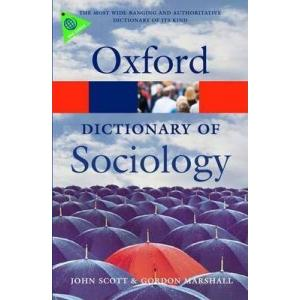 Dictionary of Sociology. 4th ed. Oxford Paperback Reference. PB