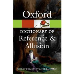 Oxford Dictionary of Reference and Allusion. PB