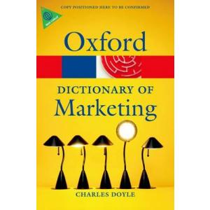 Dictionary of Marketing. Oxford Paperback Reference. PB