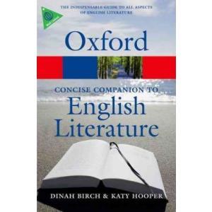 Oxford Concise Companion to English Literature. 4th edition. PB