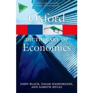 Oxford Dictionary of Economics. 4th edition. PB