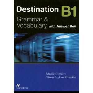 Destination B1 Grammar & Vocabulary.    Książka (z Kluczem)