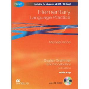 Elementary Language Practice. Książka z Kluczem + CD