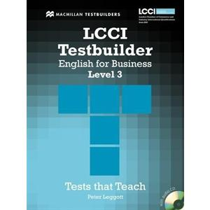LCCI Testbuilder 3 + CD.   English For Business