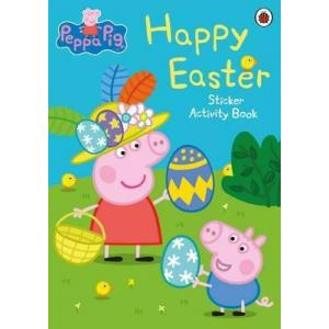 Peppa Pig: Happy Easter. Sticker Ativity Book