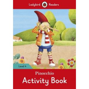 Ladybird Readers Level 4: Pinocchio Activity Book