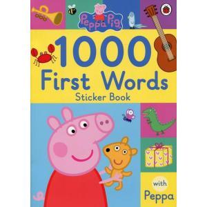 Peppa Pig: 1000 First Words. Sticker Book
