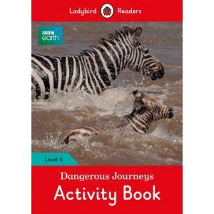 Ladybird Readers Level 4: Dangerous Journeys Activity Book