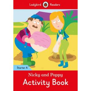 Ladybird Readers Starter Level A: Nicky and Poppy Activity Book