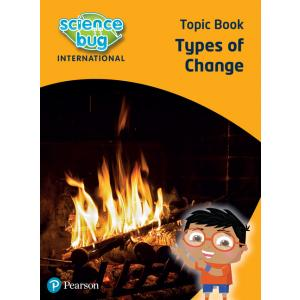 Science Bug: Types of change Topic Book