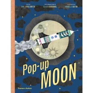 LA Pop-up Moon /książka rozkładana/