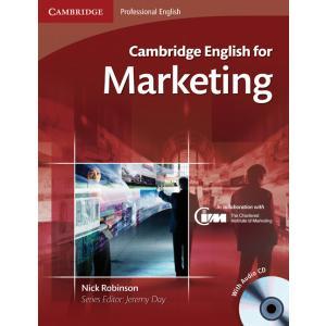 Cambridge English for Marketing. Podręcznik + CD