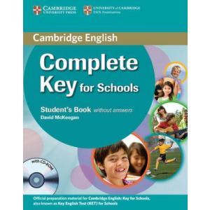 Complete Key for Schools. Podręcznik bez Klucza + CD, Ćwiczenia bez Klucza + CD