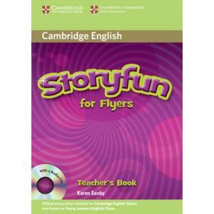 Storyfun for Flyers.   Książka Nauczyciela + CD