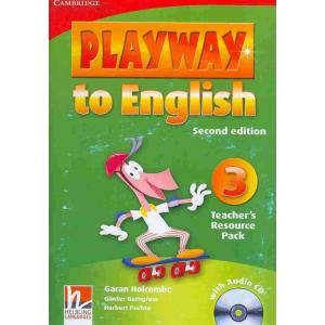Playway to English 3. Second Edition   Teacher's Resource Pack + CD