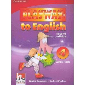 Playway to English 4. 2nd Edition   Flashcards Pack