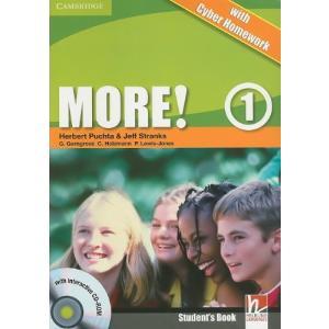 More! 1.    Podręcznik + Cyber Homework + CD