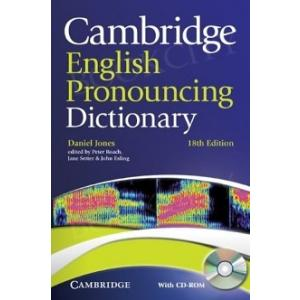 Cambridge English Pronouncing Dictionary + CD