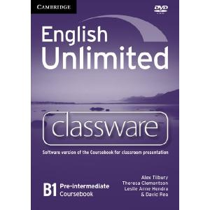 English Unlimited Pre-Intermediate. Oprogramowanie Tablicy Interaktywnej
