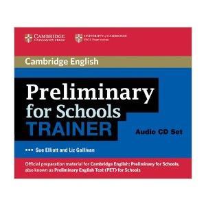 Preliminary for Schools Trainer Audio CD