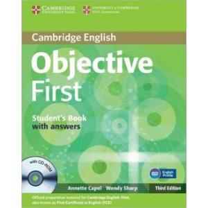 Objective First 3ed SB w/ans with CD-ROM