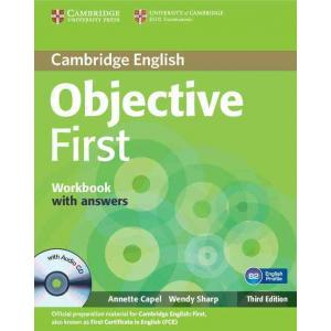 Objective First 3ed WB w/ans with Audio CD
