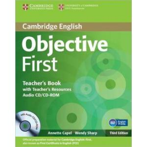 Objective First 3ed TB with Teacher's Resources Audio CD/CD-ROM