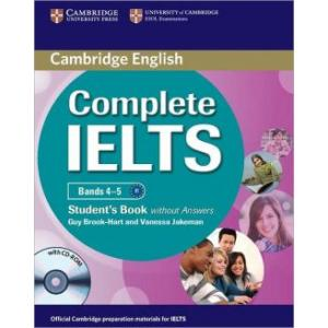 Complete IELTS Bands 4-5 SB w/o ans with CD-ROM