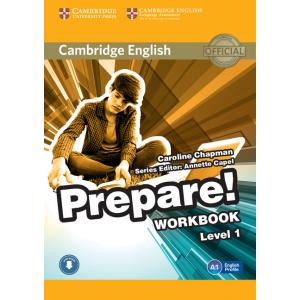 Prepare! Level 1. Ćwiczenia + Audio