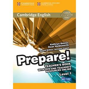 Prepare! Level 1. Książka Nauczyciela + DVD + Teacher's Resources Online